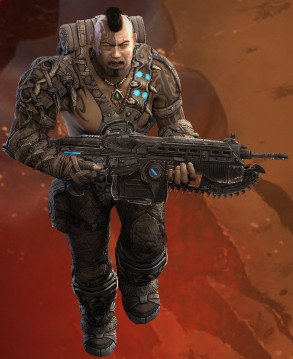 Gears of War: Judgment's Jungle Tai (Exclusive Character)   Gears of war, Gears of wars, Future soldier