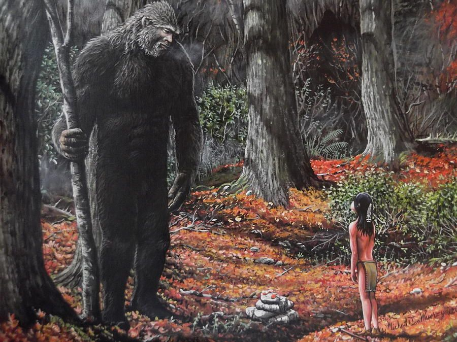 Images Of Sasquatch Art Google Search Hairy Man Art