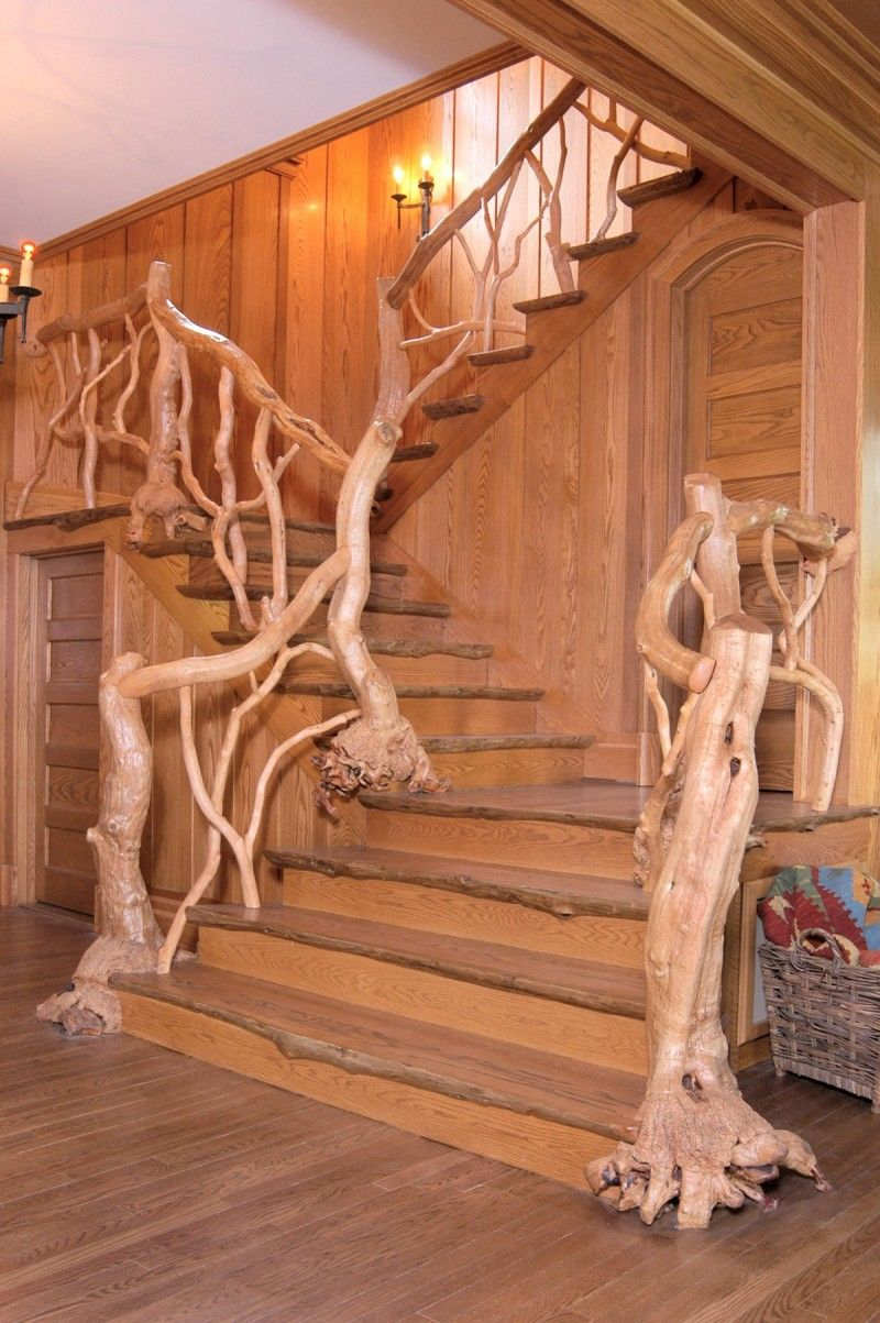 Best Just Like The Berenstein Bears Twig Railing Rustic 400 x 300