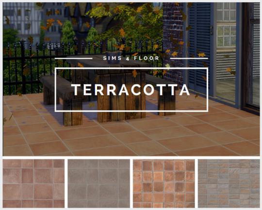 Tilly Tiger Terracotta Floor Sims Flooring