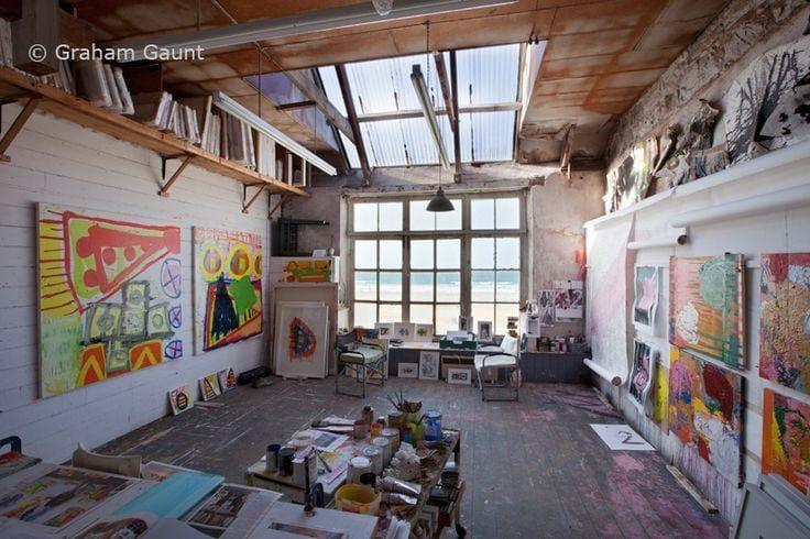 20 Ateliers d'Artistes Aux Intérieurs Etonnants   amylee.fr   le magazine de l'Artiste entrepreneur