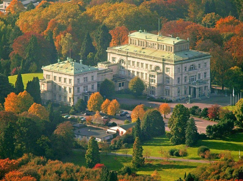 Villa Hugel Fruher Und Heute Villa Hugel Villa Villen