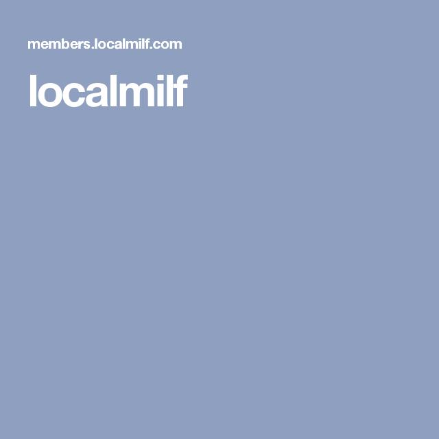 Localmilf login