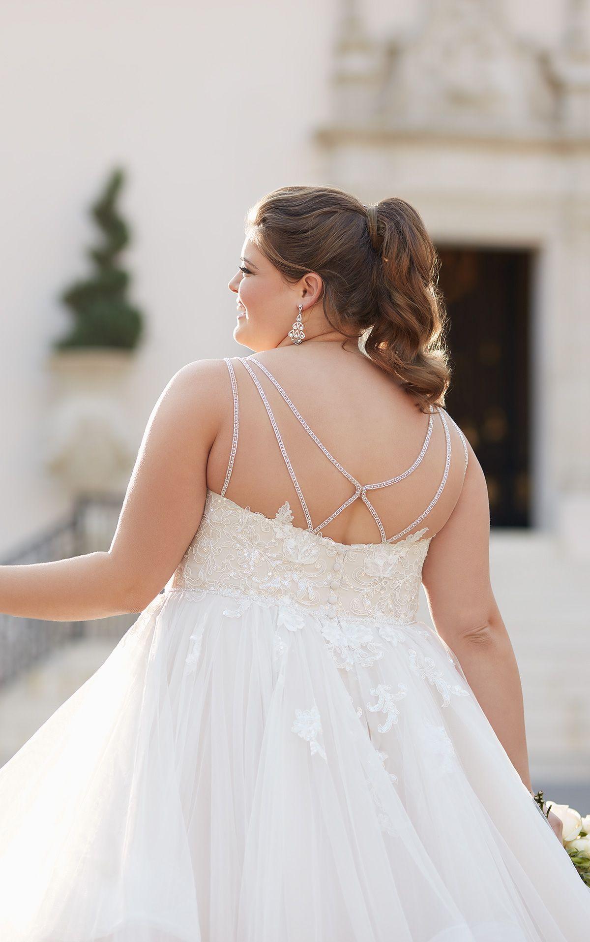 Shimmering Ballgown Plus Size Wedding Dress Stella York Wedding Dresses Plus Size Wedding Gowns Ball Gown Wedding Dress Alternative Wedding Dresses [ 1914 x 1200 Pixel ]