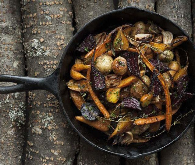 Vegetable Ideas For Dinner Party Part - 42: Stunning Side: Roasted Root Vegetables With Sage Butter