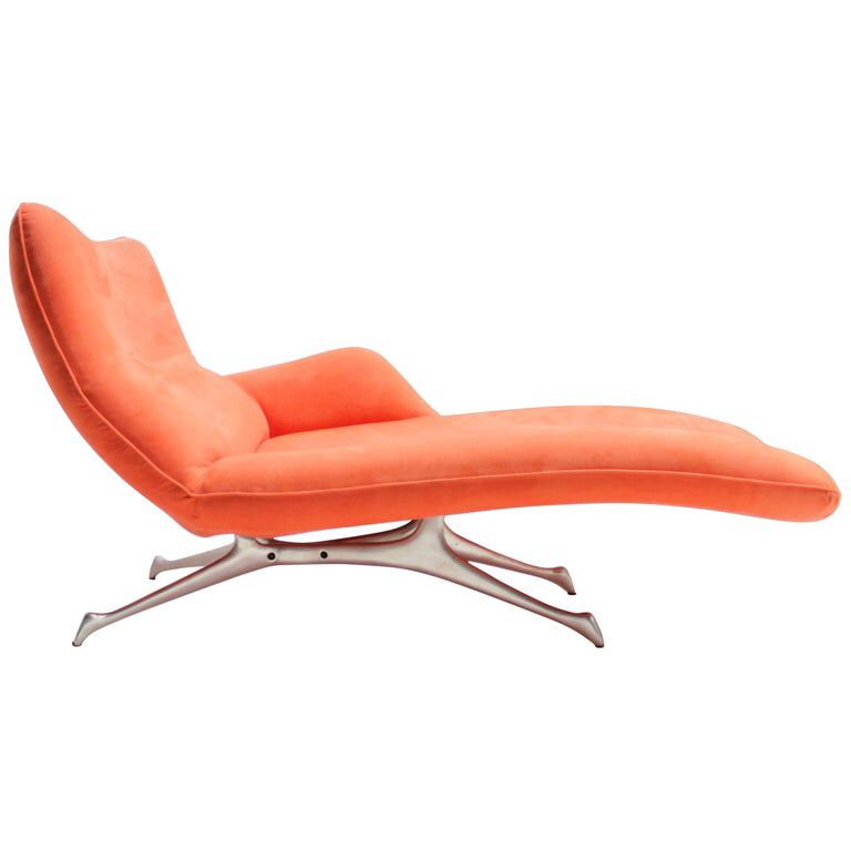 Vladimir Kagan Chaise Lounge For The Kagan New York Collection Chaise Lounge Chaise Lounge Chair Design