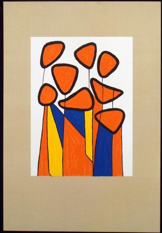 Alexander Calder Paintings Alexander Calder Fine Art Print With