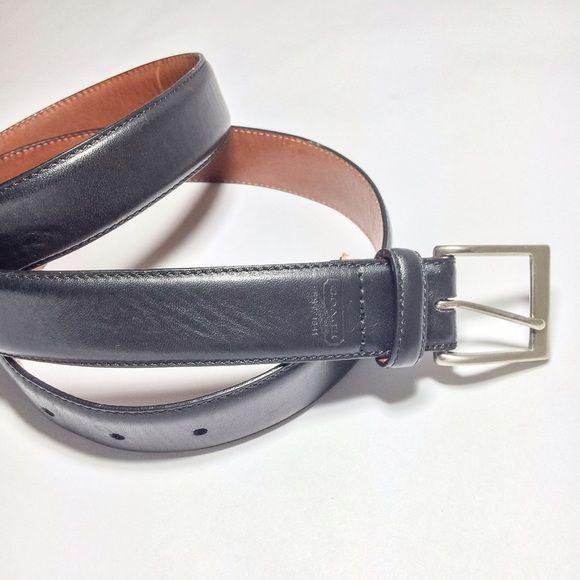 Leather Coach Belt Men's size 38. Women's LARGE. Excellent condition. Coach Accessories Belts