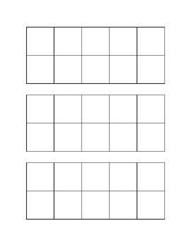 Ten frame template printable frame http www for 10 frame template printable