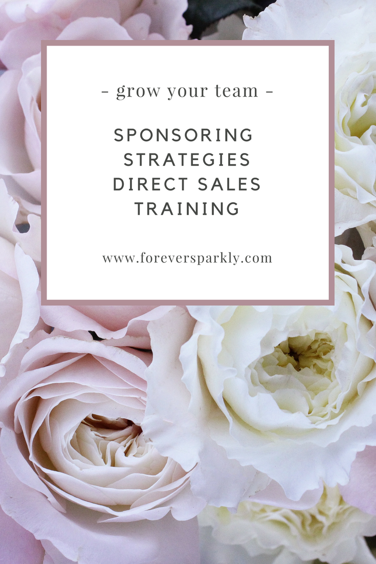 Looking to grow your direct sales team? Wondering how to share your direct sales opportunity with others? Click to purchase a 1-hour video coaching call all about sponsoring strategies and grow your direct sales team!