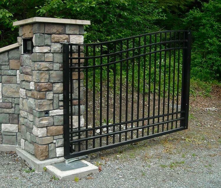 Front gate for the house