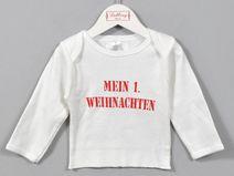 """Langarmshirt """"Mein 1. Weihnachten"""""""
