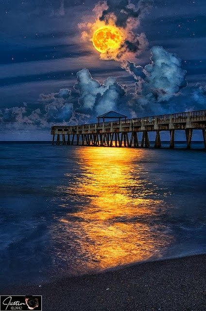 Juno Beach Pier Florida Usa Via Paisajes Hermosos In Google