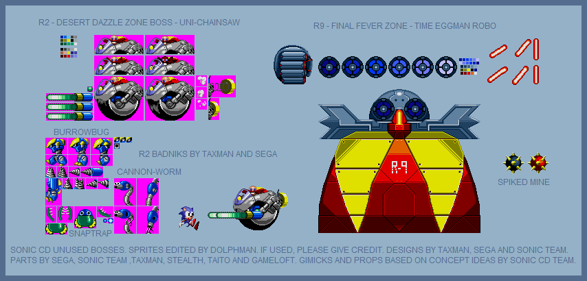 Sonic CD incomplete bosses: Complete editions by ...