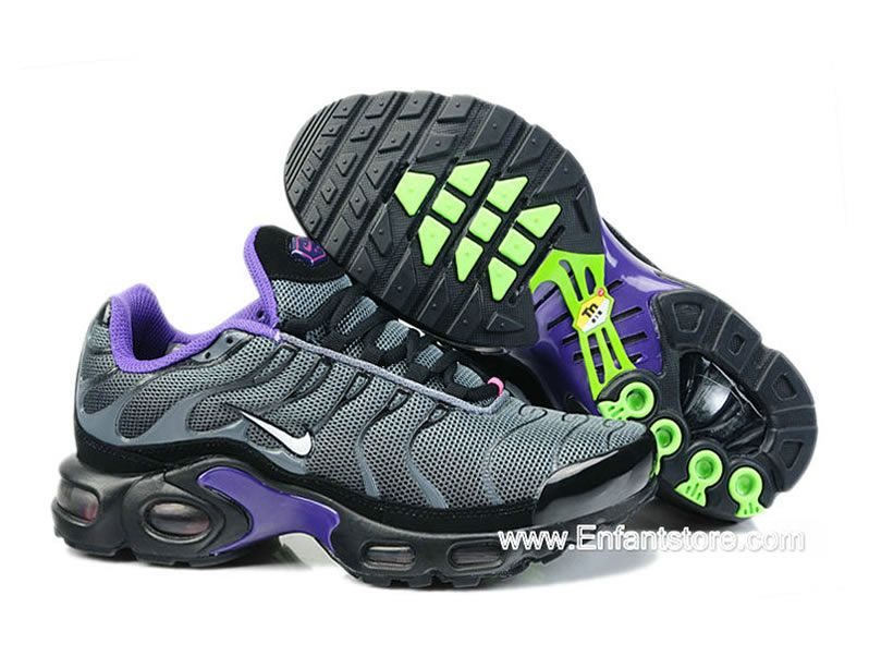 classic e62a9 b0064 Nike Air Max Tn Requin Tuned 1 2014 chaussures Pour Homme Gris Pourpre  nikesite9527