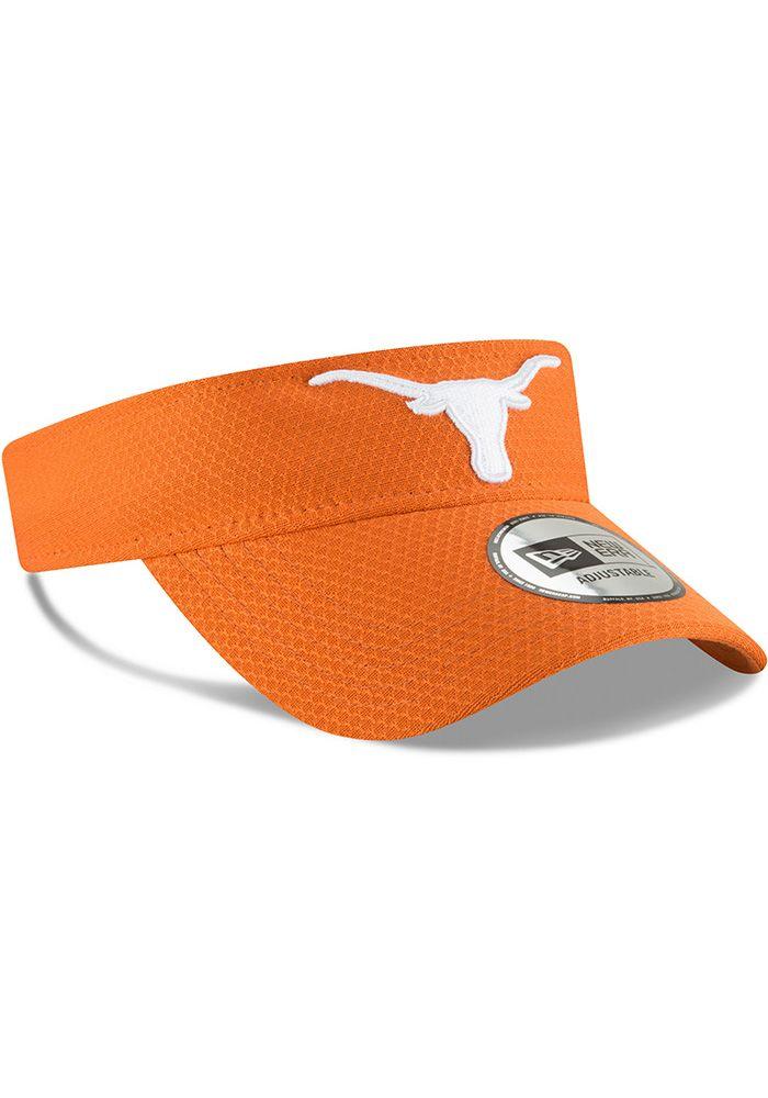 premium selection 9f22a d933a Texas Longhorns Mens Burnt Orange NE17 Training Adjustable Visor, Burnt  Orange, POLYESTER, Size ADJ