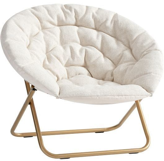 hang around chair pottery barn rocker gaming teen ivory tweed a round products