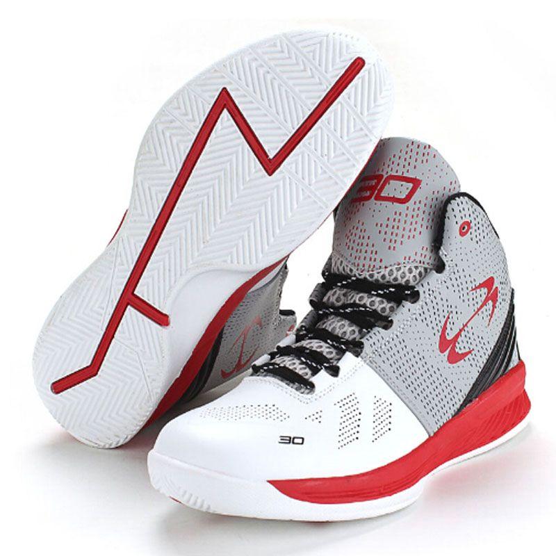 2016 New Children Basketball Shoes Kids Sneakers Boys Girls Slip