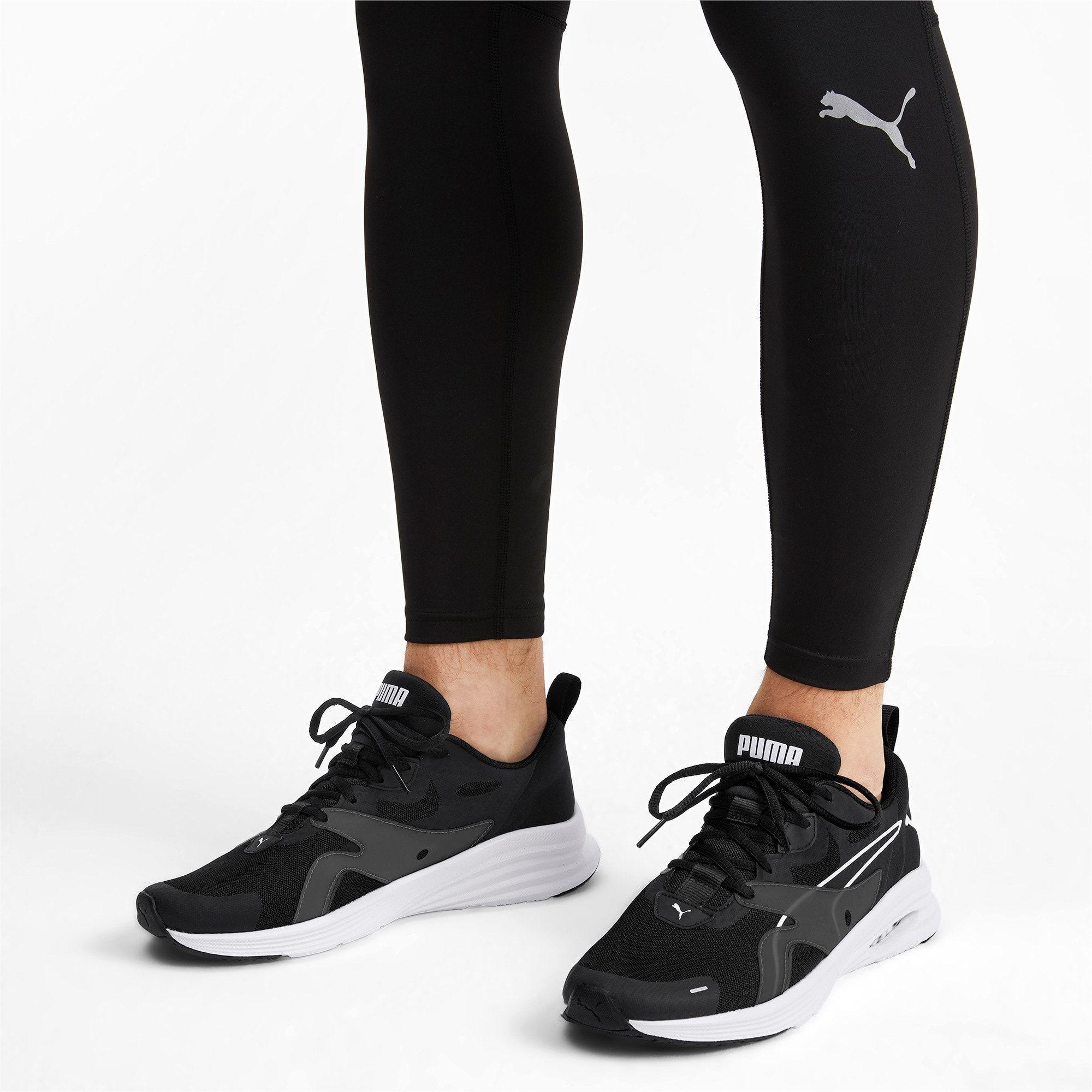 PUMA Hybrid Fuego Men's Running Shoes in Black/White size 10.5 #stylishmen