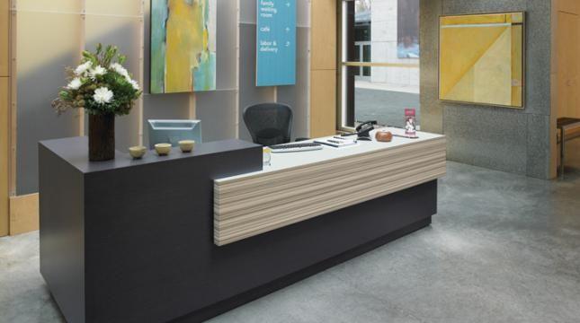 Formica Front Desk Modern Reception Desk Front Desk Design