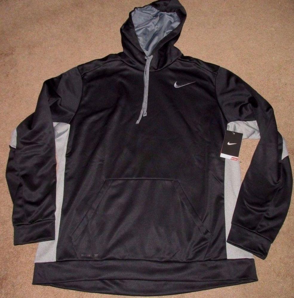 e1037eb928d0 Nike KO 3.0 Therma-FIT Pullover Training Hoodie Mens Black Grey 650733 010   Nike  SweatshirtsFleeces