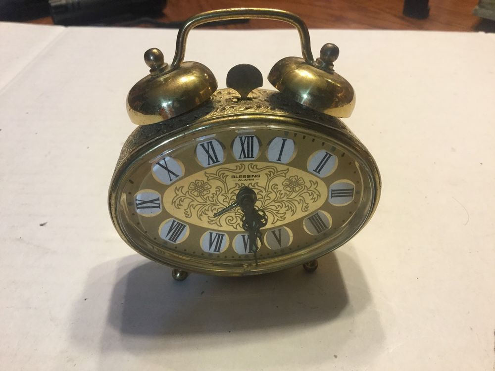 vintage blessing alarm clock west old fashioned amazon big ben ebay school sound effect