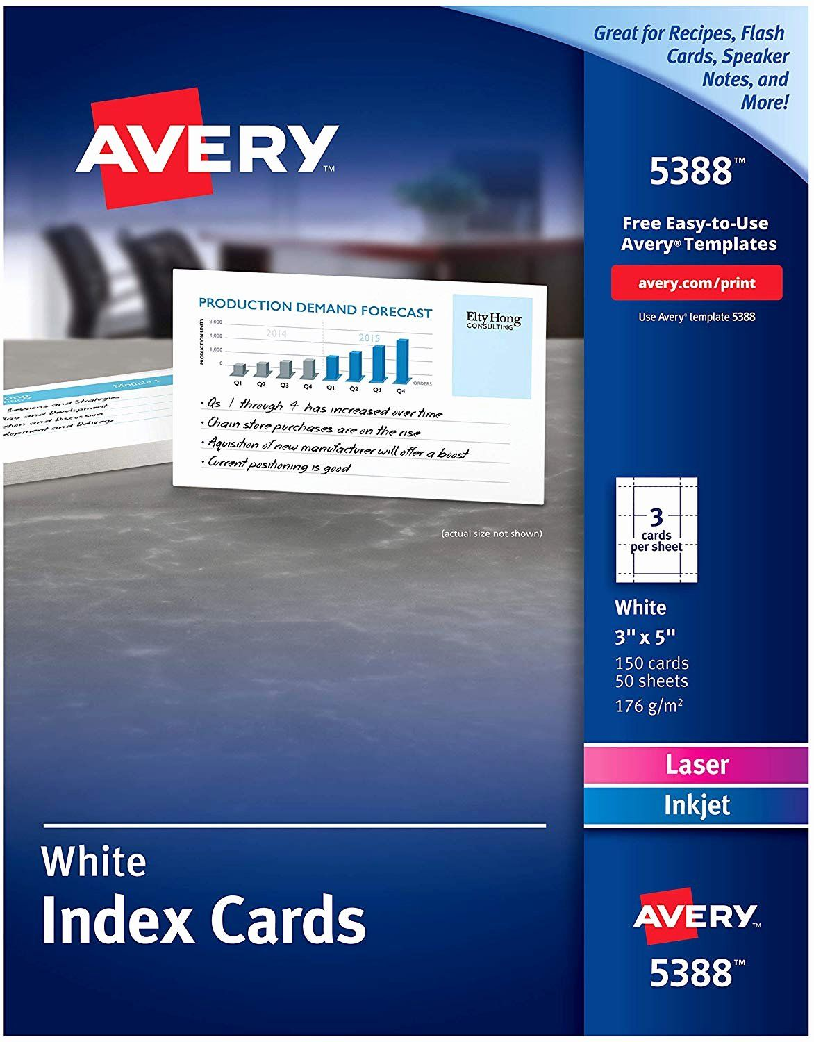 Avery 4x6 Postcard Template Luxury Avery Index Cards For Laser And Inkjet Printers Great For Flash Cards Recipe Card Printer Recipe Cards Template Index Cards