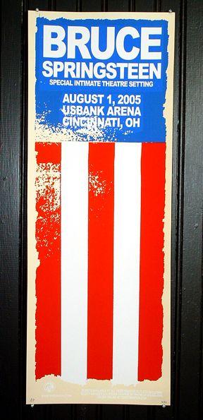 Rad Bruce Springsteen poster!