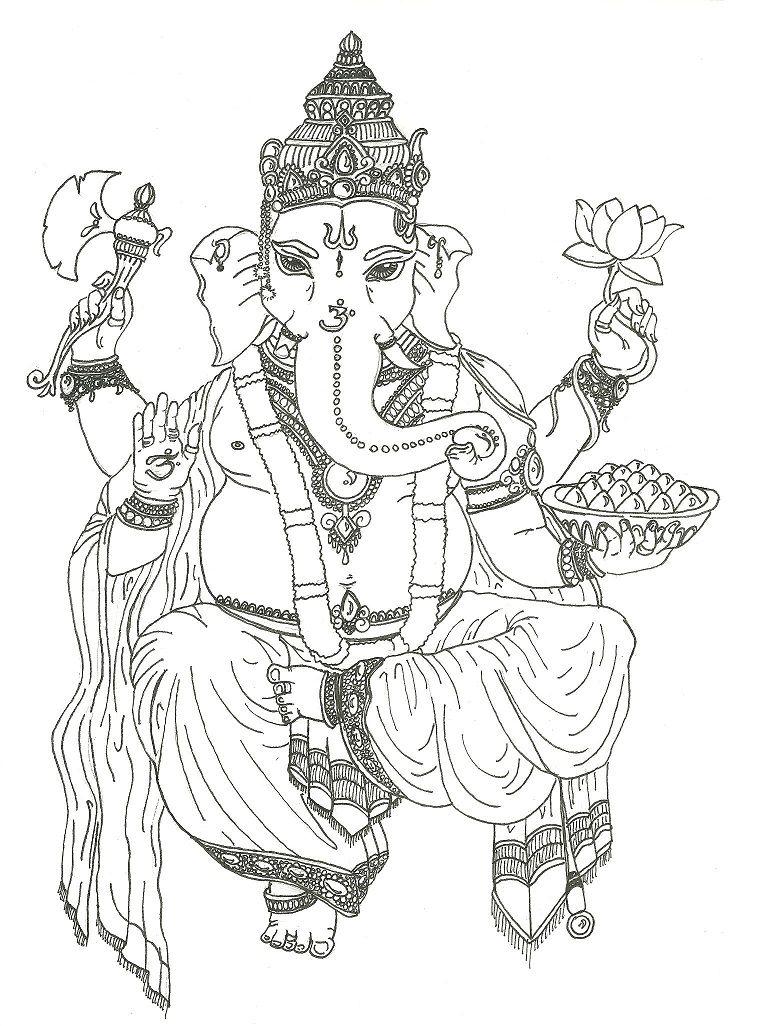 Ganesh by ~Savage-Orange on deviantART   ganesha   Pinterest ...