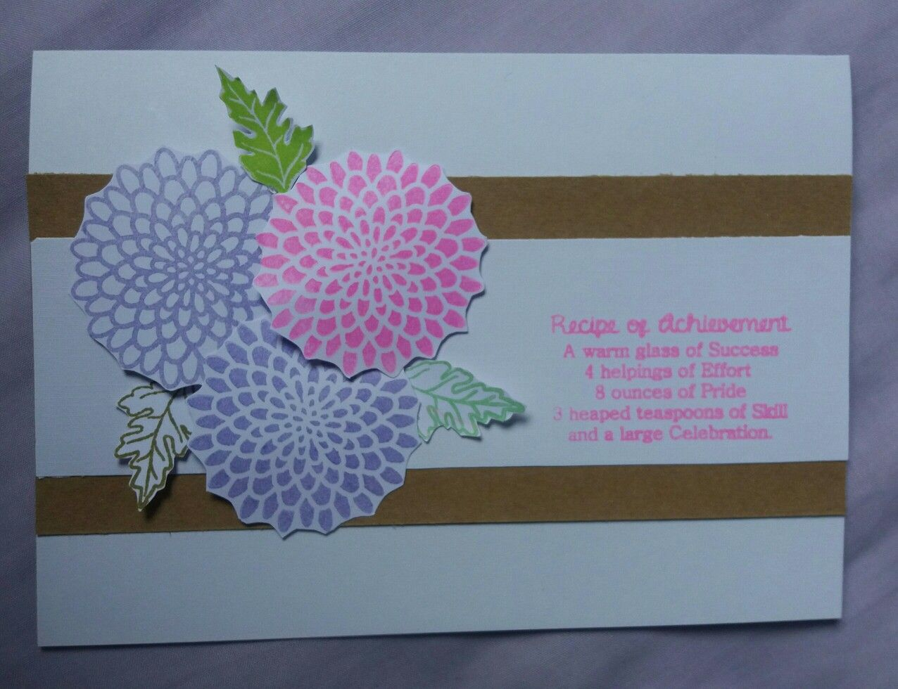 Dreamees Recipe Stamps With Free Floral Stamp Craft Magazine