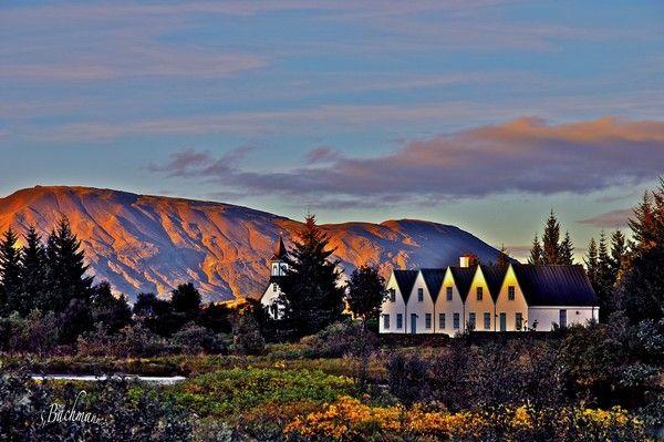 Thingvellir - church ! by Sigridur Bachmann on ARTwanted