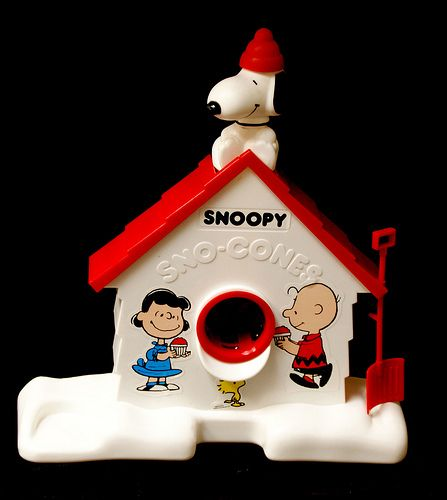 shaved ice Snoopy