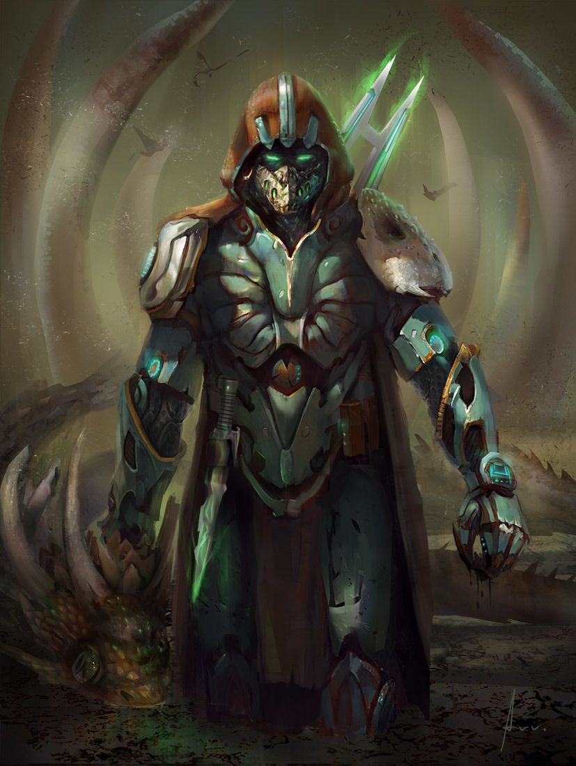 fantasy sci fi hunter - Google Search | D&D Characters ...