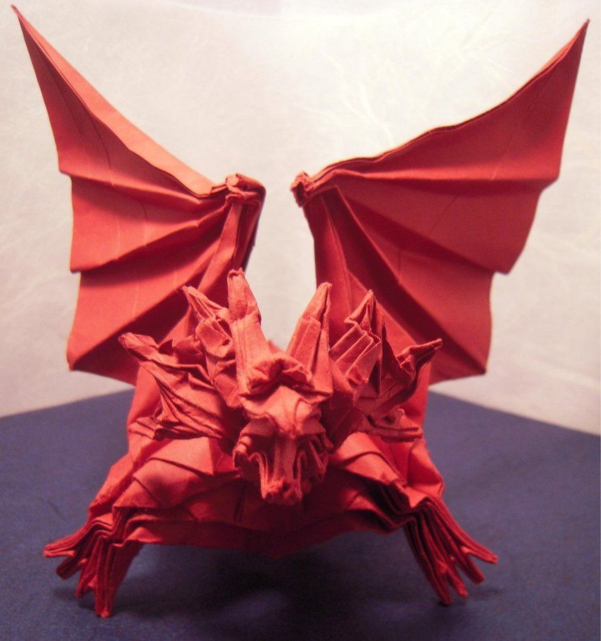 Origami Dragon Ancient By Whosat On Deviantart