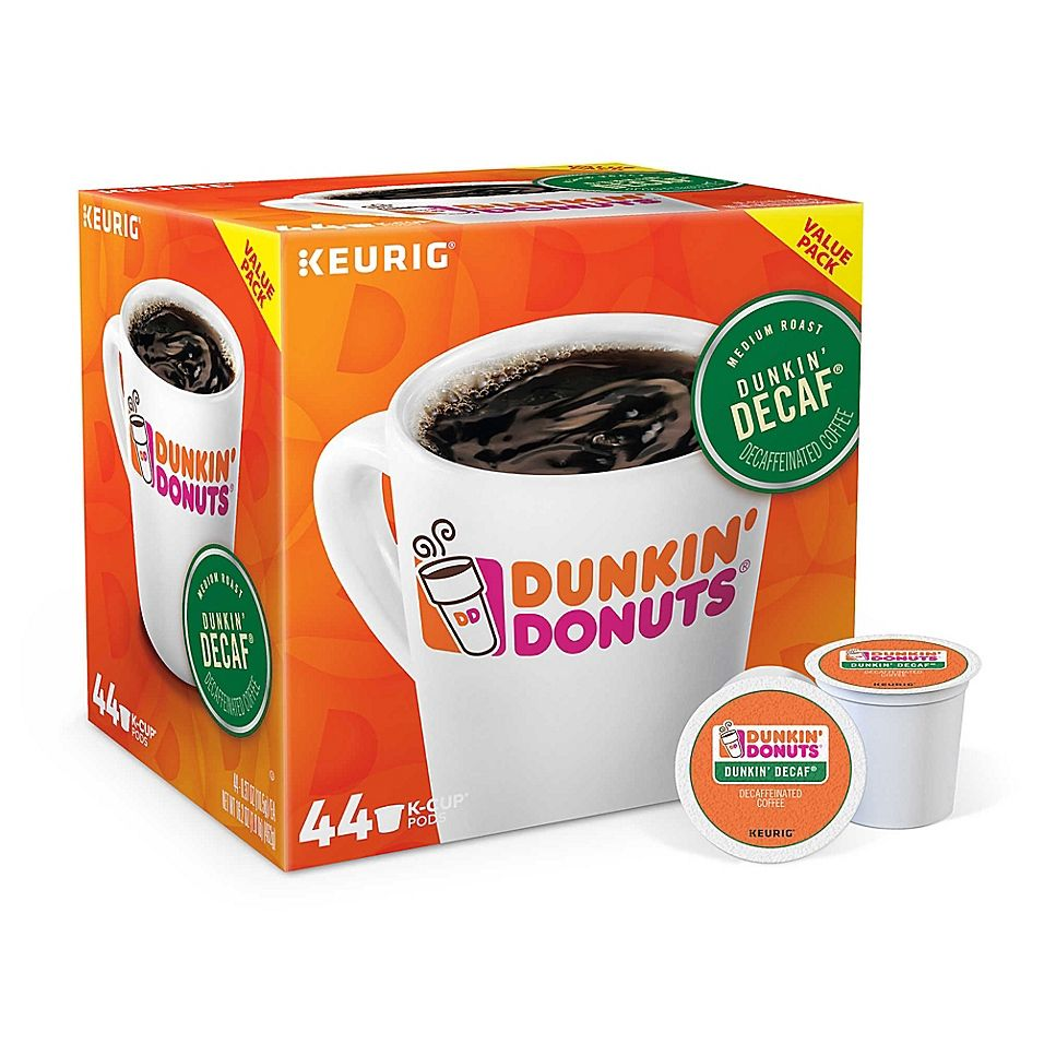 Dunkin donuts decaf coffee value pack keurig kcup