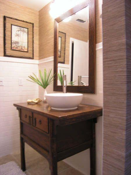 lavabos rusticos - Google Search Baños rústicos Pinterest - lavabos rusticos