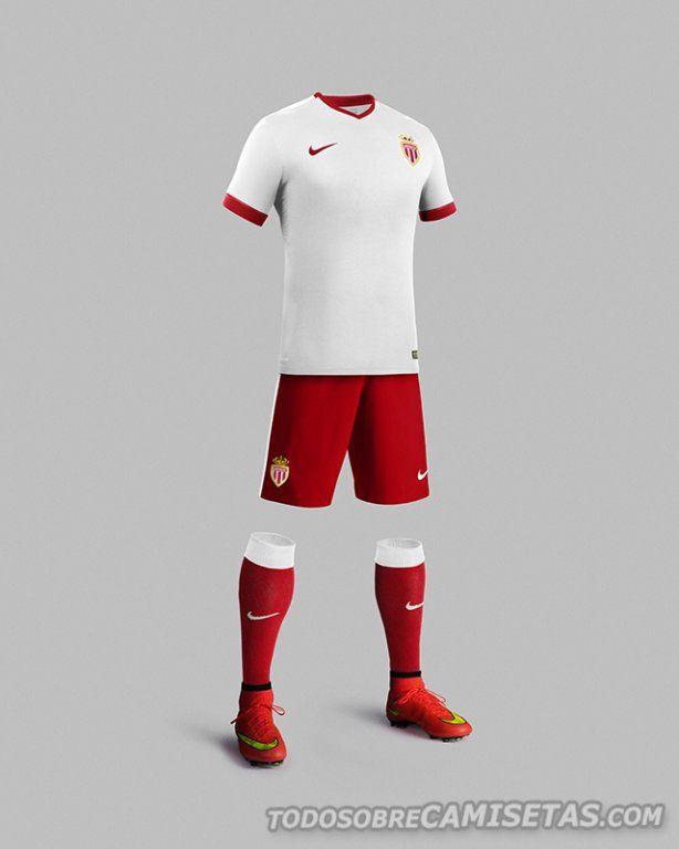 uniforme futbol monaco