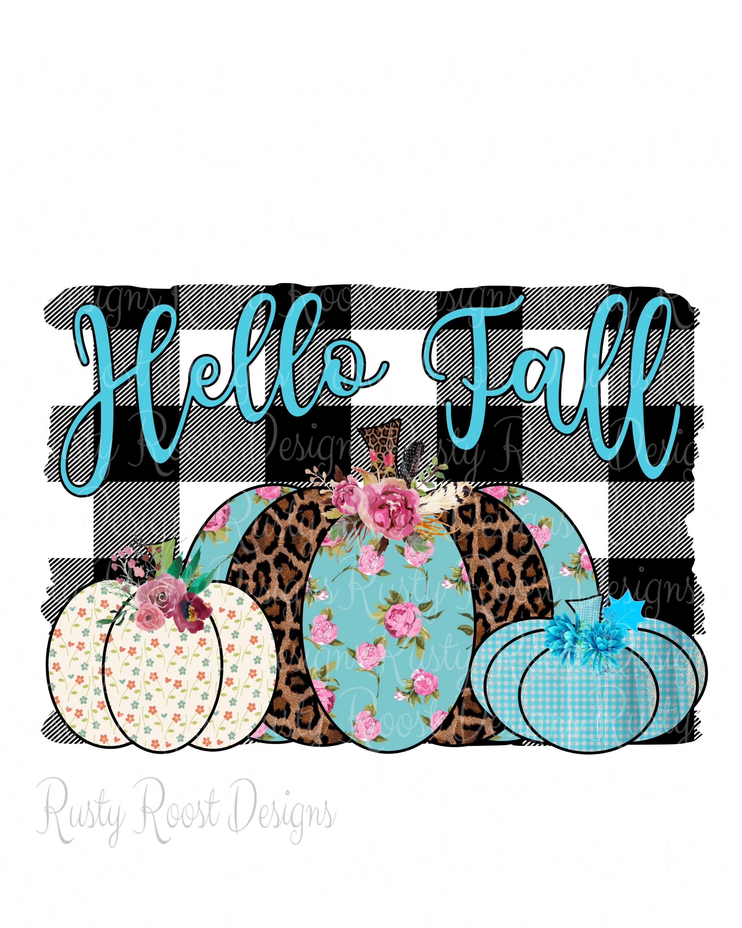 Hello fall png,sublimation design download,Fall sublimation design,fall image design,transfer design,leopard pumpkin,pumpkin design,fall