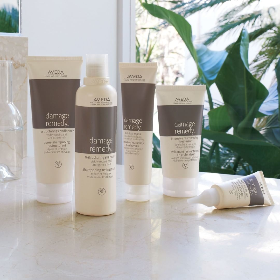Aveda On Instagram Everything You Need For Healthy Beautiful Hair The Damageremedy Family Will Keep Your Hair Loo Hair Remedies Remedies All Things Beauty