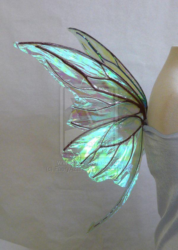 Small wire Titania Fairy Wings by FaeryAzarelle.deviantart.com ...