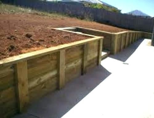 Best Fascinating 6X6 Retaining Wall Construction 6 Walls Timber 640 x 480