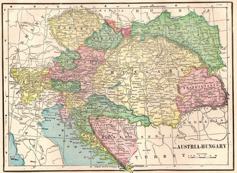 1902 antique austria map hungary map of austria gallery wall art 1902 antique austria map hungary map of austria gallery wall art 4437 gumiabroncs Choice Image
