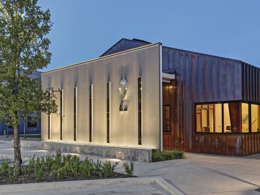 Clearfork Campus Architect Magazine Cunningham Architects Fort Worth Texas Mixed Use 2015 Aia Dallas Built Design Awards Aia Dall Building Design Design Awards Design