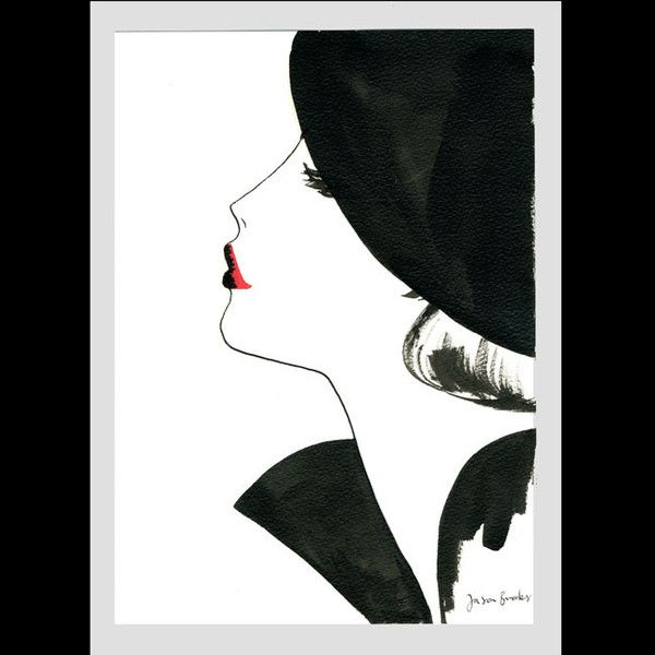 shu84: Jason Brooks Fashion Illustrations
