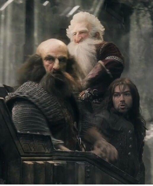 Dwalin Balin and Kili The Hobbit Dwarf Cosplay in