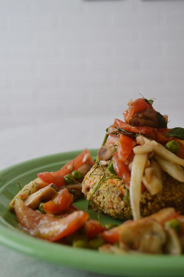 Hamburger de quinoa