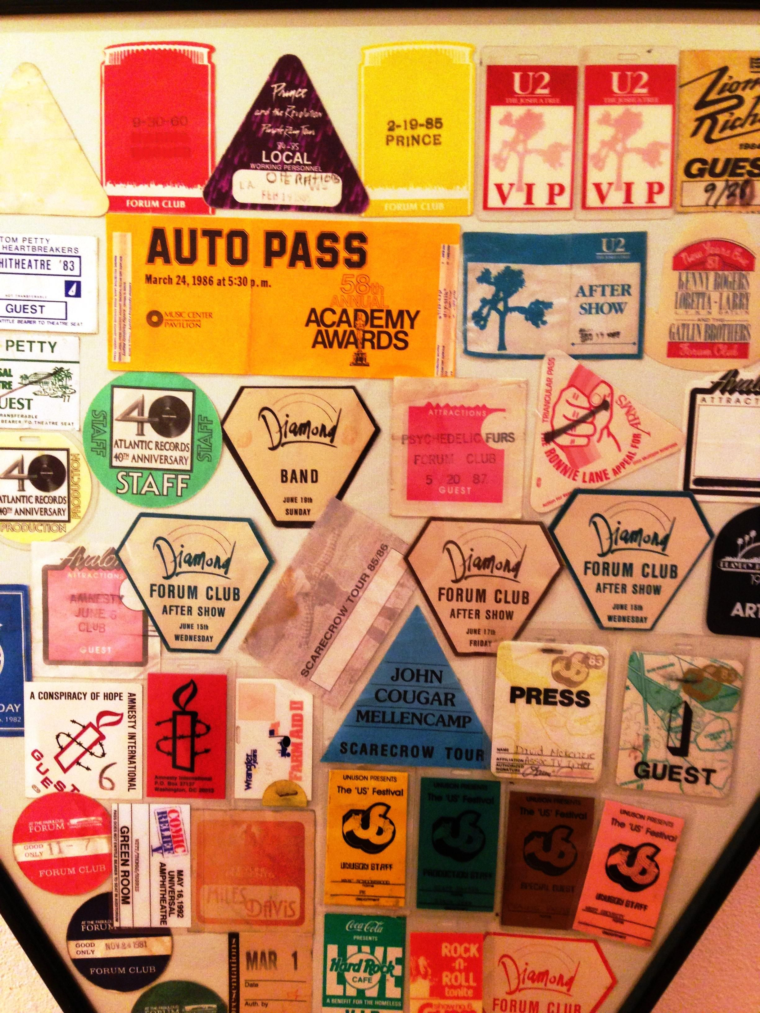 Classic! 1980's VIP Passes