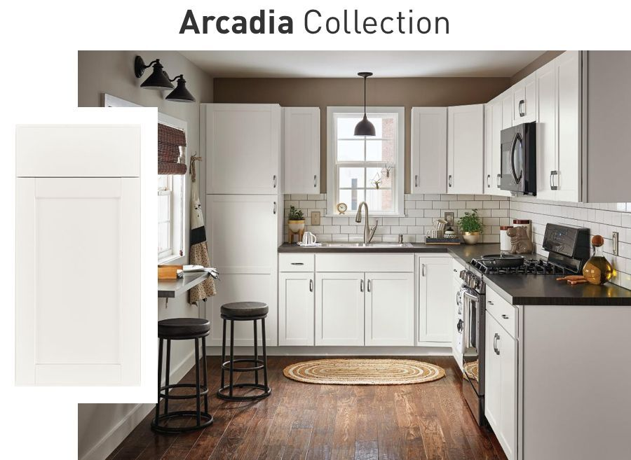 Shop In Stock Kitchen Cabinets At Lowe S Stock Kitchen Cabinets