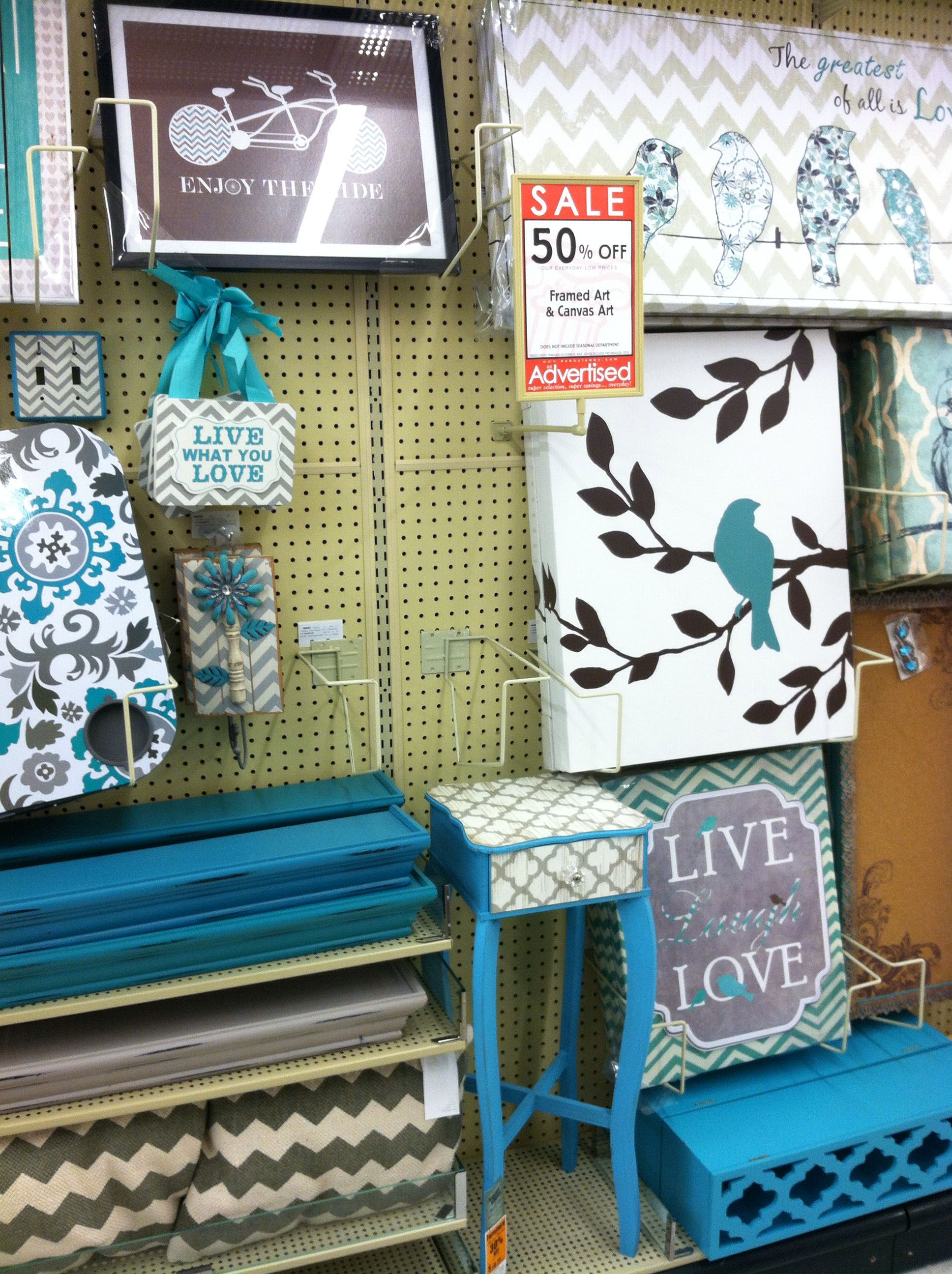 Gray And Teal Decor At Hobby Lobby Teal Decor Hobby Lobby Hobby