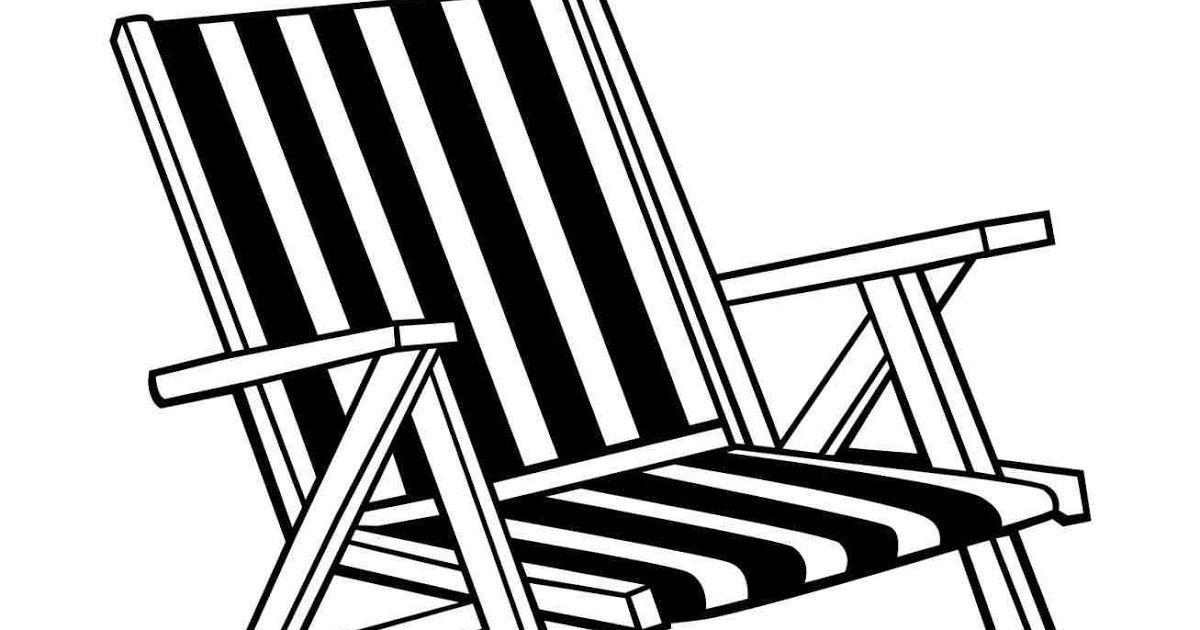 Free Black And White Beach Chair Download Free Clip Art Burostuhllinieikone Auf Weissem Hintergrund Stock Vektor Art Black And White Beach Clip Art Art Chair
